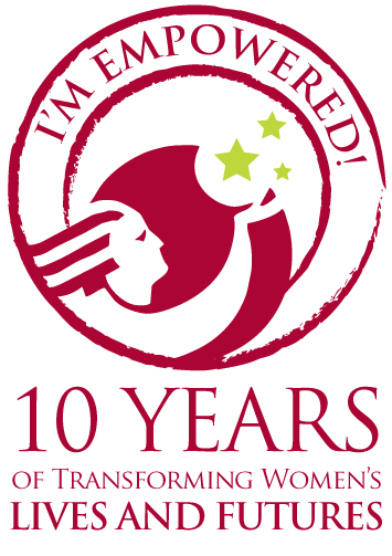 About empowered women international - Th anniversary symbol ...